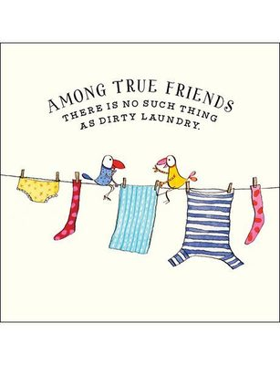CARD - AMONG TRUE FRIENDS