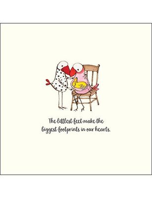 CARD - THE LITTLEST FEET