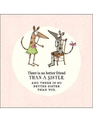 CARD - THERE IS NO BETTER FRIEND