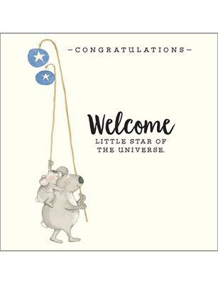 Card - Welcome Little Star