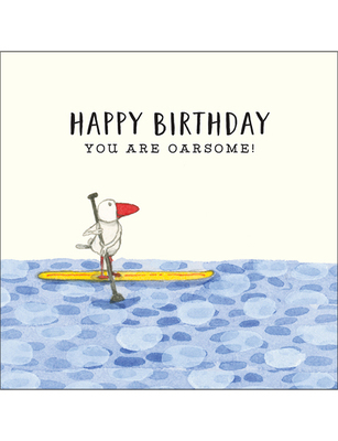 Card - Happy Birthday You Are Oarsome
