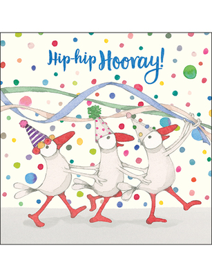 Card - Hip Hip Hooray