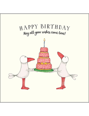 Card - Happy Birthday May all Your Dreams