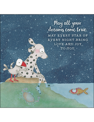 Card - May All Your Dreams Come True
