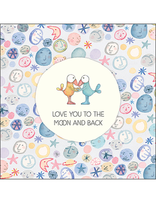 Card - Love You to the Moon and Back