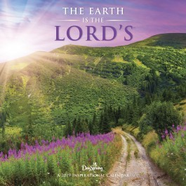 2019 Calendar Wall Earth is the Lords