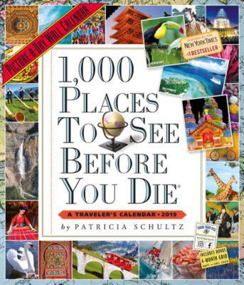 1,000 Places to See Before You Die Picture-A-Day Wall Calendar 2019