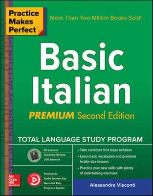 Practice Makes Perfect: Basic Italian, Second Edition