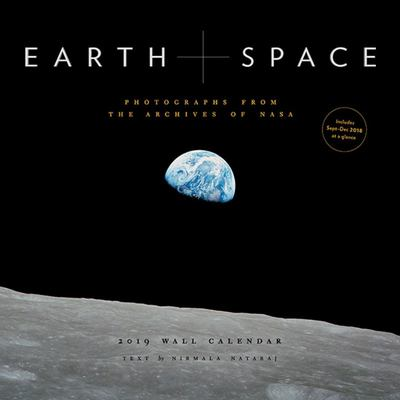 2019 EARTH+SPACE WALL CALENDAR