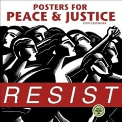 2019 Wall Calendar Resist Posters for Peace and Justice