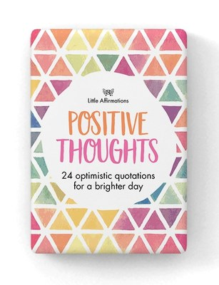 Positive Thoughts Little Affirmations 24 cards (DPT)