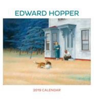 Edward Hopper 2019 Wall Calendar