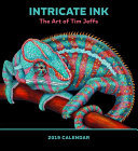 Intricate Ink 2019 Wall Calendar: