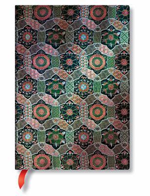Journal Chakra Midi Sacred Tibetan Textiles Lined
