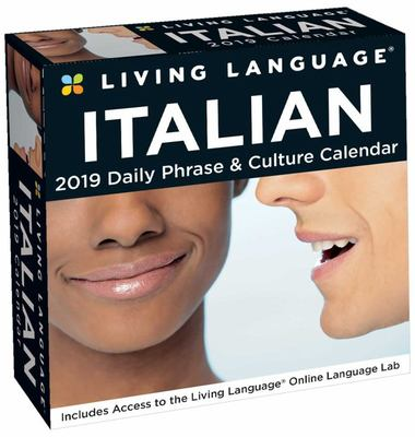 Living Language: Italian 2019 Day-To-Day Calendar
