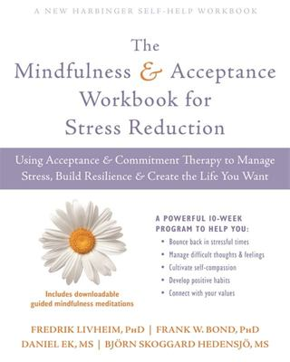 Mindfulness & Acceptance Wkbk Stress Red