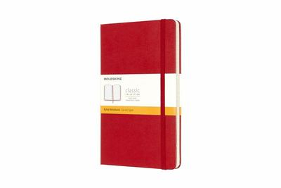 Classic Ruled Red Large Notebook - Moleskine