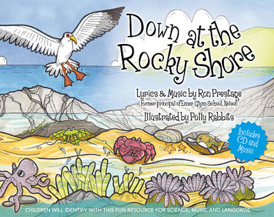 Down at the Rocky Shore (Book & CD)