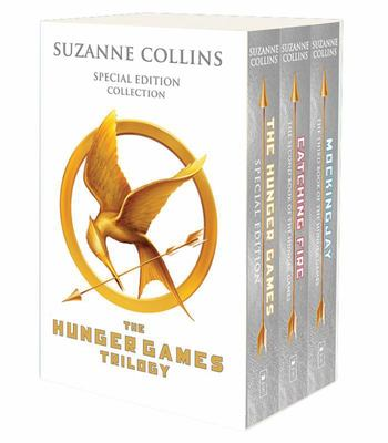 The Hunger Games Trilogy Box Set  (Silver & White Covers)