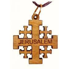Pendant Jerusalem Cross