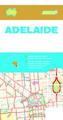 Adelaide Suburbs & City Centre Map