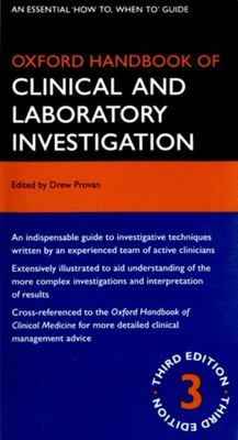 Oxford Handbook of Clinical and Laboratory Investigation