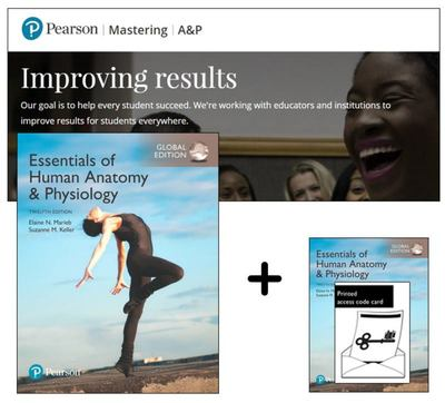 Essentials of Human Anatomy and Physiology, Global Edition + Mastering a&P with EText