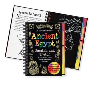 Ancient Egypt Scratch and Sketch