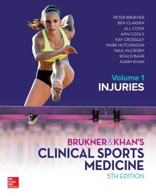 Clinical Sports Medicine Vol 1 Injuries