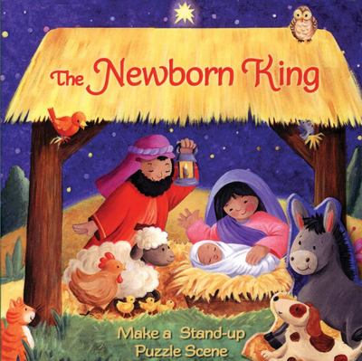 The Newborn King - Make a Stand-Up Puzzle Scene