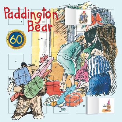 Paddington 2019 Anniversary Advent Calendar (with Stickers)