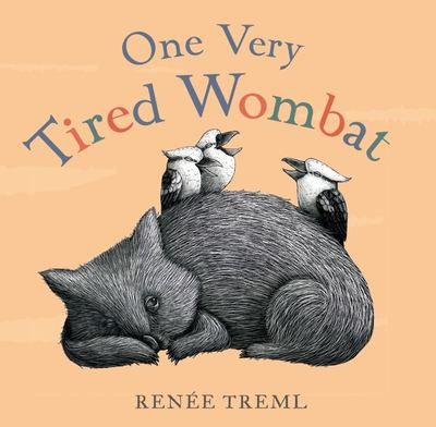 One Very Tired Wombat - Board Book