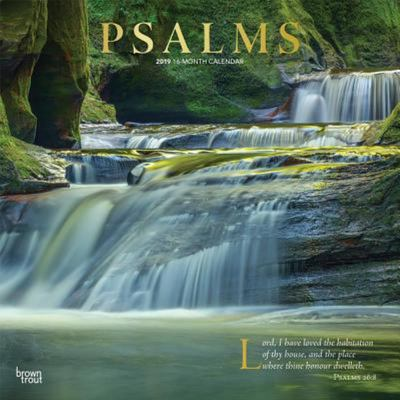 Psalms 2019 Square Wall Calendar