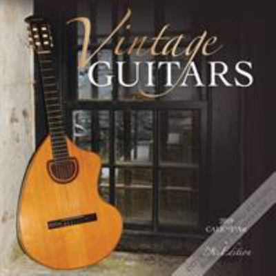 Vintage Guitars 2019 Square Wall Calendar