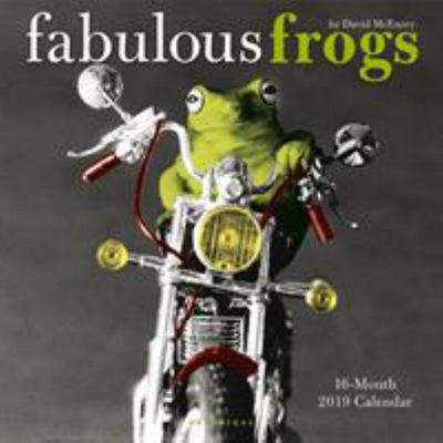 Fabulous Frogs 2019 Square Wall Calendar