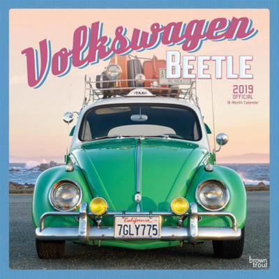 Volkswagon Beetle 2019 Square Wall Calendar