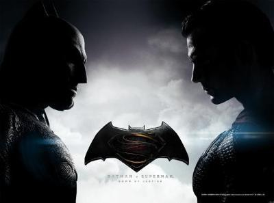 Batman v Superman: Dawn of Justice Movie Flip Book with Poster