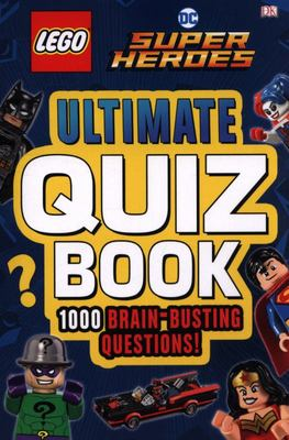Lego DC Comics Superheroes - Ultimate Quiz Book