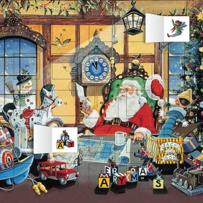 Letter to Santa Advent Calendar (with Stickers)