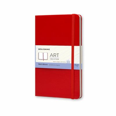 MOLESKINE - Classic Sketch Red Large Notebook