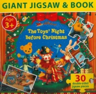 Toys Night Before Christmas Giant Jigsaw & Book