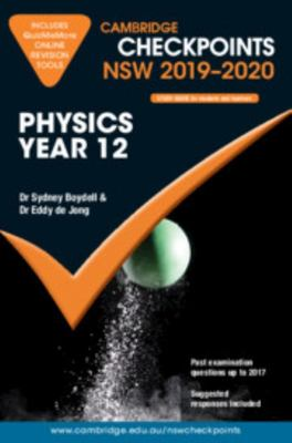 CUP Checkpoints NSW 2019-20 Physics Year 12 and QuizMeMore