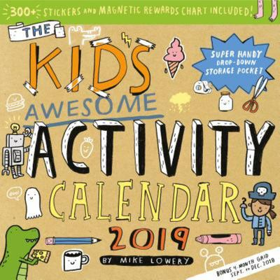 2019 THE KIDS AWESOME ACTIVITY WALL CALENDAR