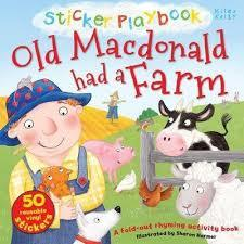 OLD MACDONALD HAD A FARM STICKER PLAYBK