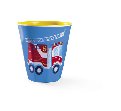 Melamine Cup - Busy City