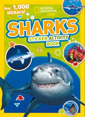 Sharks Sticker Activity Book - Over 1,000 Stickers!