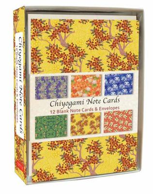 Notecards Chiyogami pk12 (6 designs)