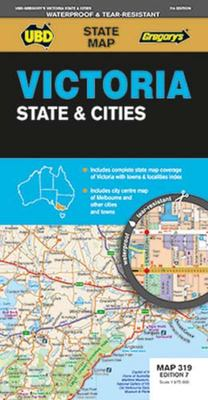 Victoria State and Cites Map 319 7th Ed