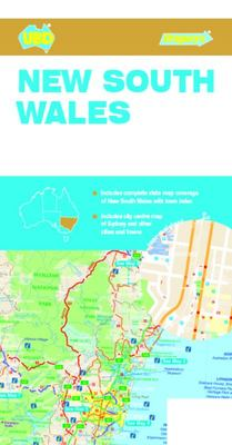 New South Wales State and Cities Map #219 8th Edition