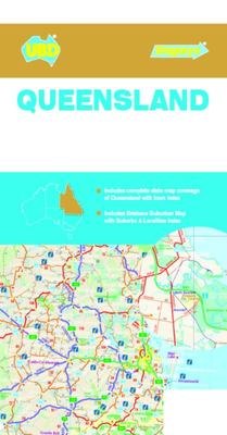 Queensland State & Suburban Map